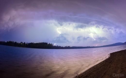 October storm.