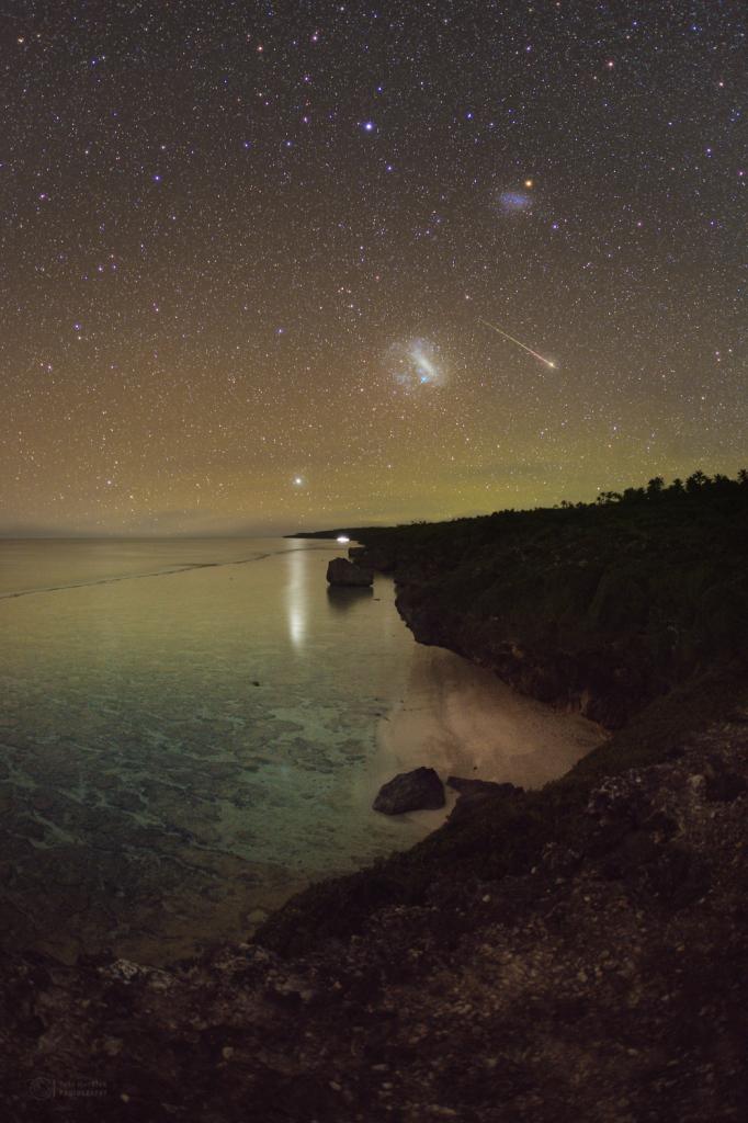Southern Perseid meteor