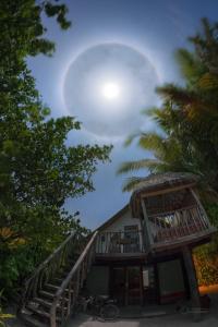 Lunar Halo over Soneva Fushi's Villa