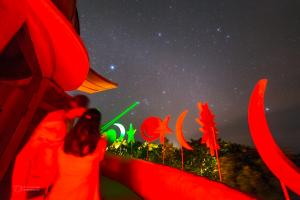 Pointing the stars from Soneva Fushi observatory