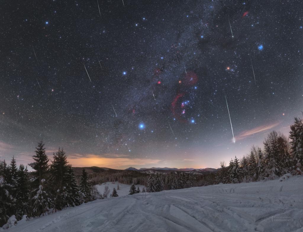 Quadrantids around dim Betelgeuse