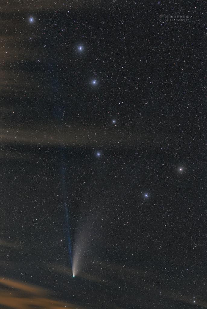 Big Dipper Comet