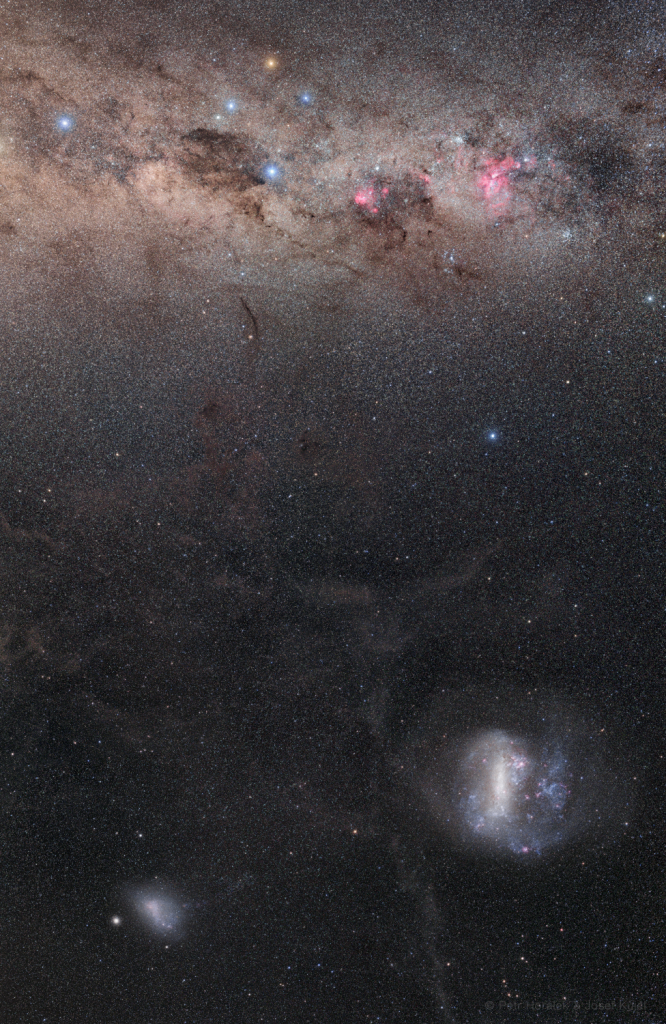 Galaxies of the South Pole