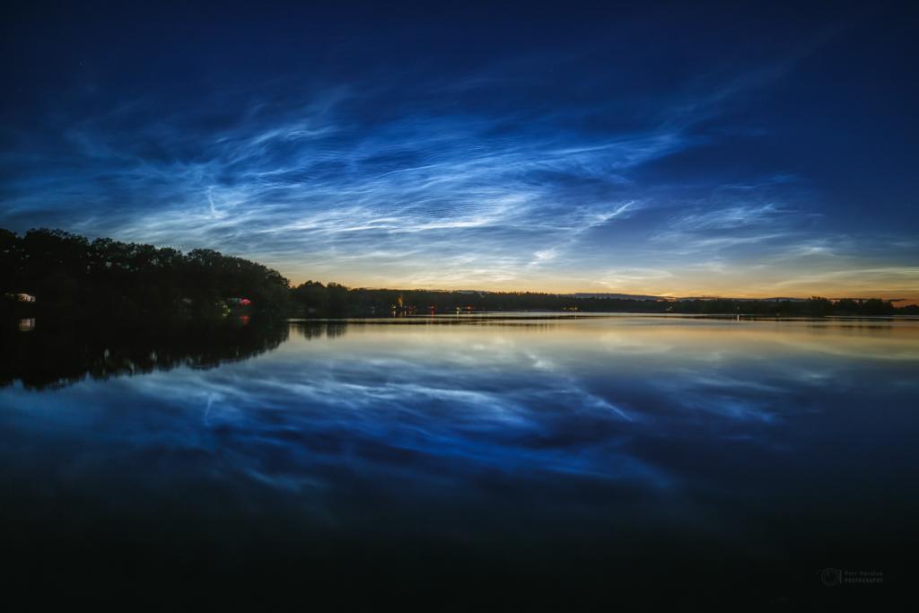 Noctilucent Clouds reflection