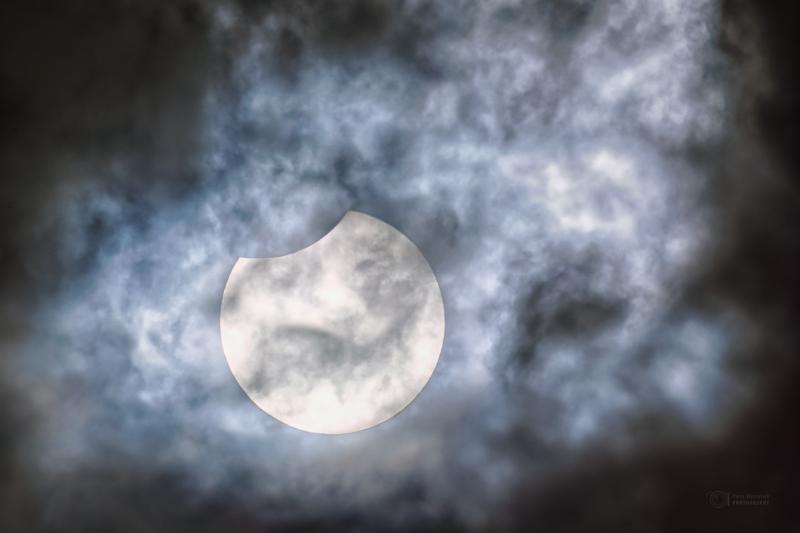 Beautiful Partial Solar Eclipse