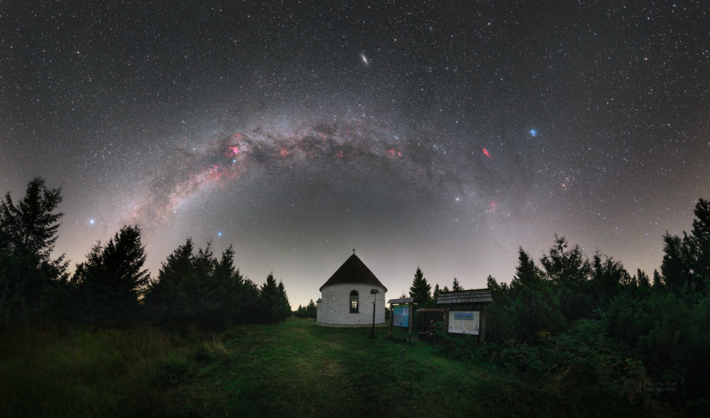 Galaxies and Reborn Chapel